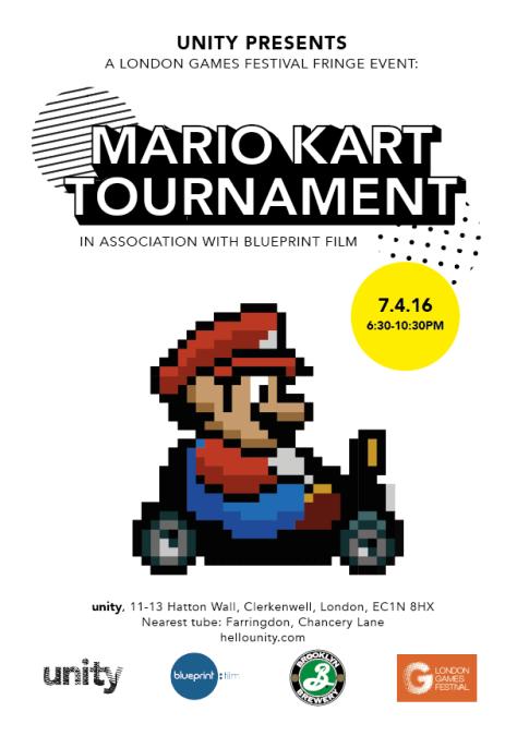 London Games Fest - MARIO KART TOURNAMENT -  Unity